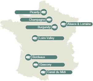 French Canal & River Cruises